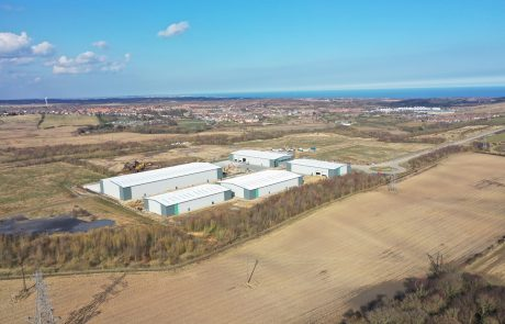 Jade Business Park phase one offers 155,000 sq ft of industrial space