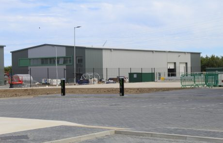 Industrial space at unit 2 Jade Business Park