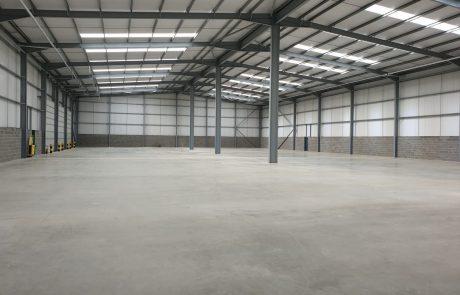 Unit 4 warehouse at Jade Business Park
