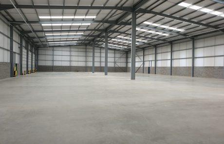 Unit 5 warehouse at Jade Business Park