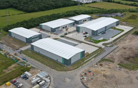 Jade Business Park is 155,000 sq ft of industrial space and is located in Murton, County Durham