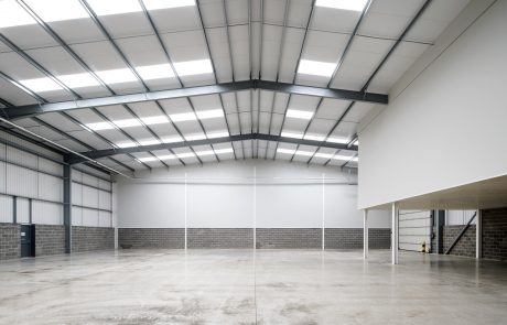 Warehouse space in unit 4 at Jade Business Park