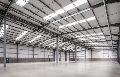Warehouse space in unit 7 at Jade Business Park.