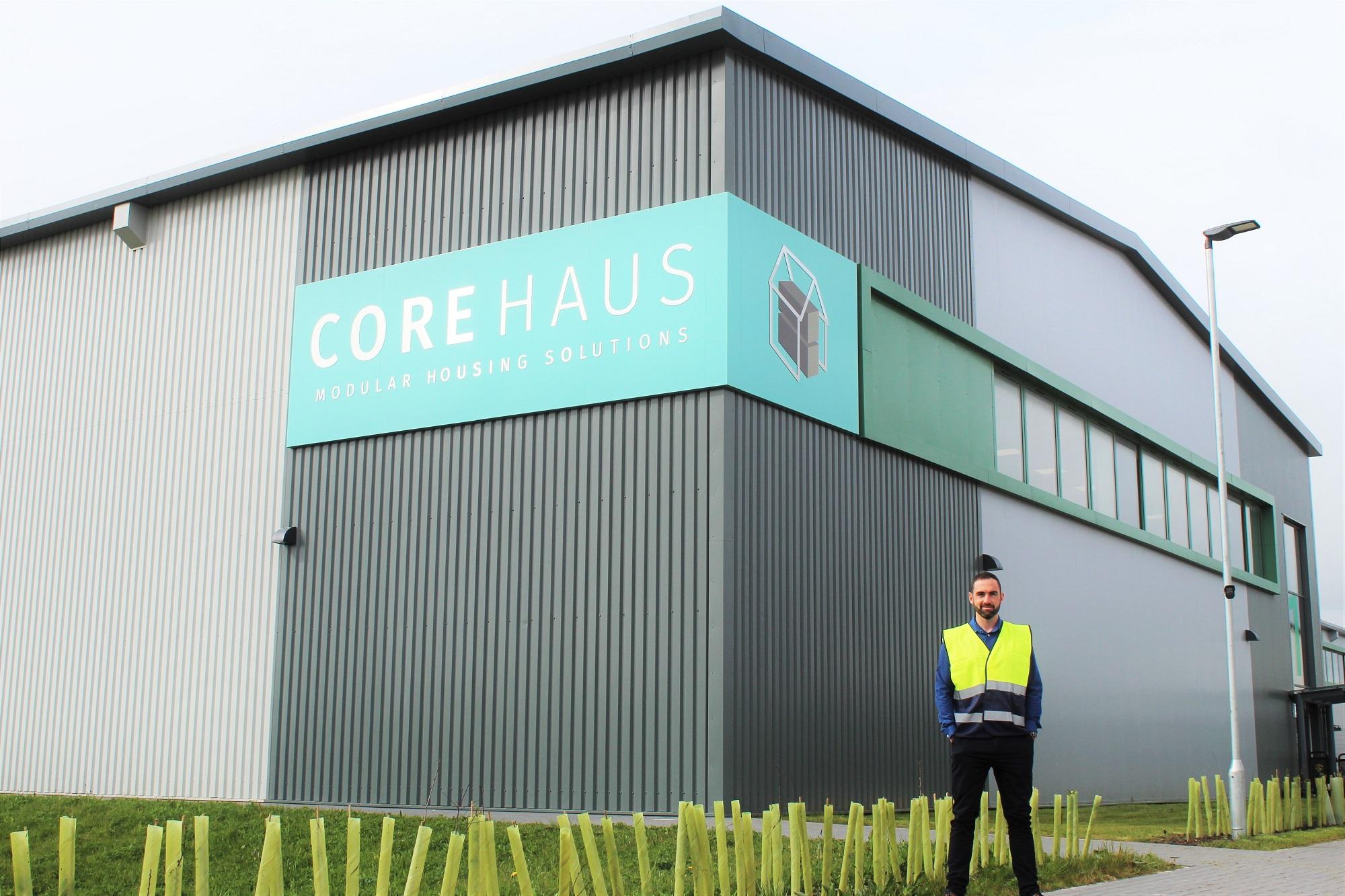 CoreHaus Managing Director Scott Bibby