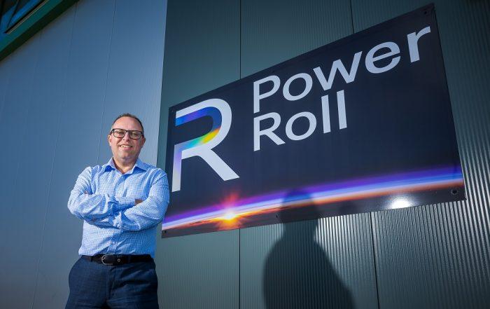Neil Spann, Chief Executive Power Roll